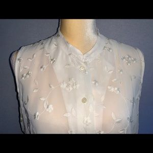 The Limited Tops - The Limited Women's Size16 Shirt yellow Top Blouse
